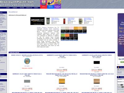 Discount Paint-Home Improvement-Ecommerce