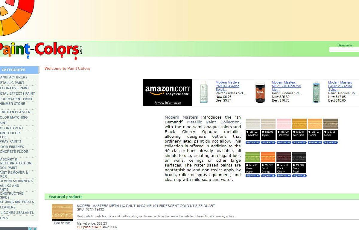 Ecommerce-PaintColors-Miami-Fl