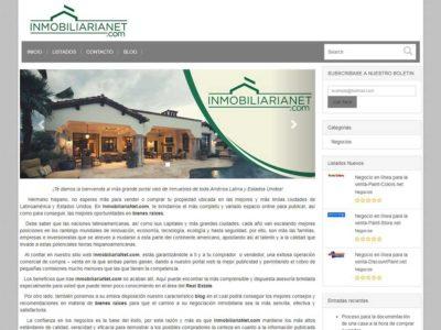 Ecommerce-Website-Inmobiliarianet-Miami-Fl