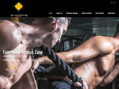 Web Design-FunctionalFitnessZone-Miami-Fl