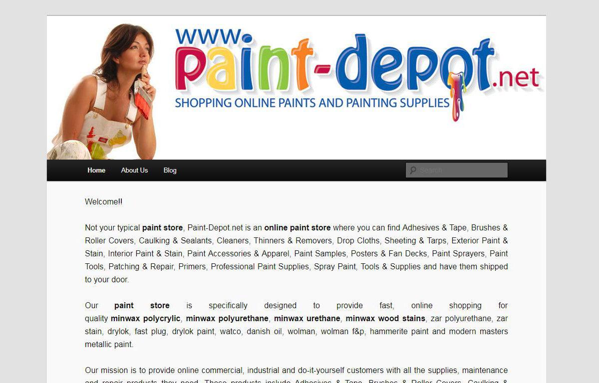 Web Design-Paint Depot-Miami-Fl